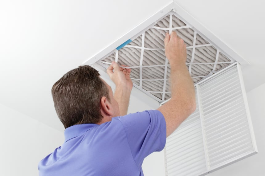 Air filter HVAC maintenance in Indianapolis